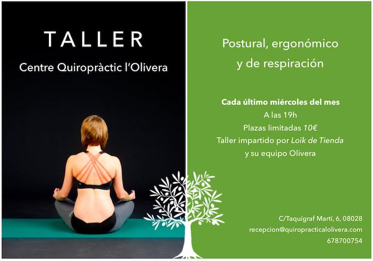 articulo-postura-beneficios-blog-cartel-2019-taller-postural-Olivera-barcelona