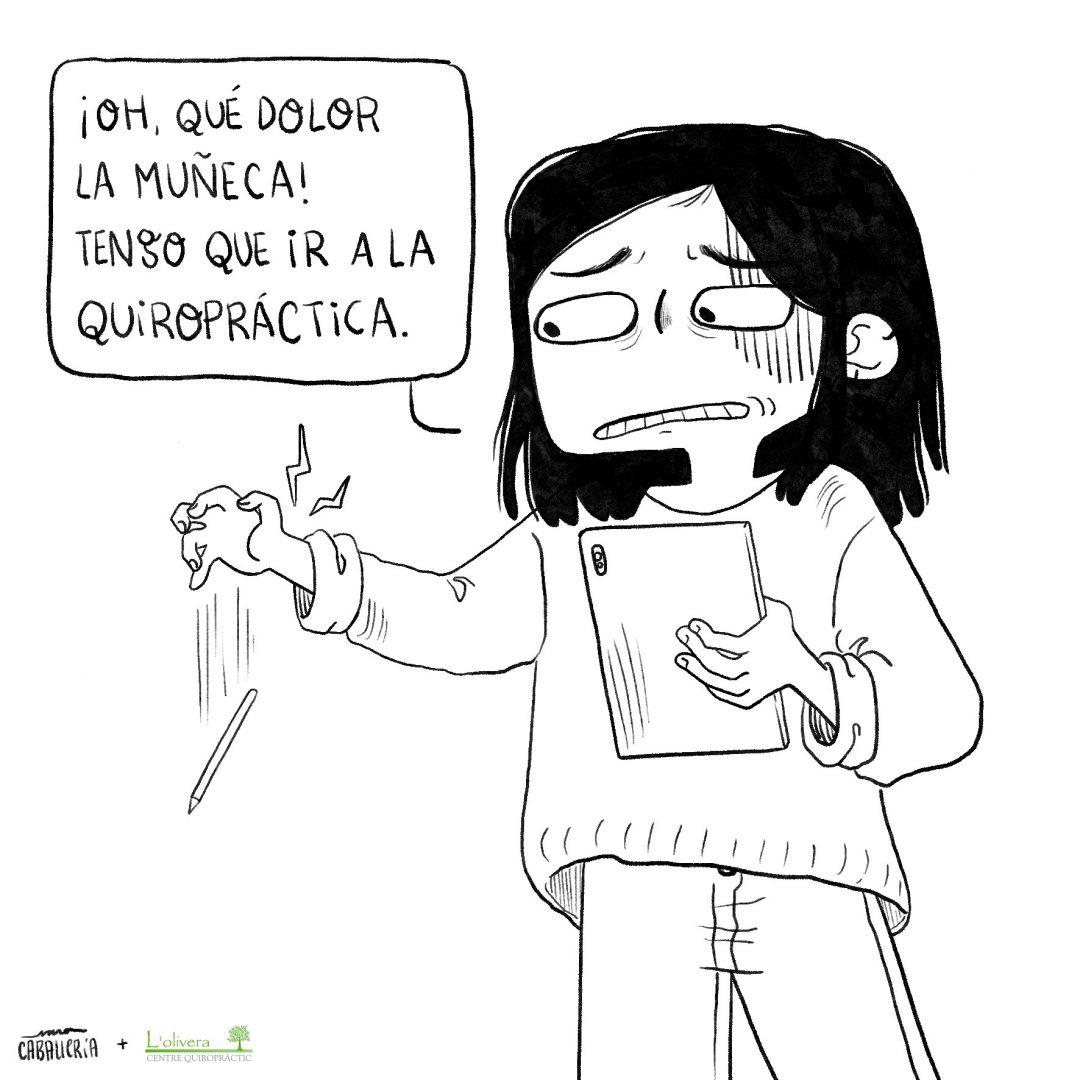 Ilustracion-quiropractica-barcelona-saracaballeria